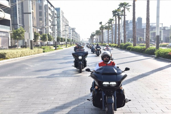 "100 bikers ""Ride for DIHAD"" to draw world's attention towards children affected by crisis and disasters"