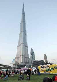 Today, visit Eat the World at Burj Park during Dubai Food