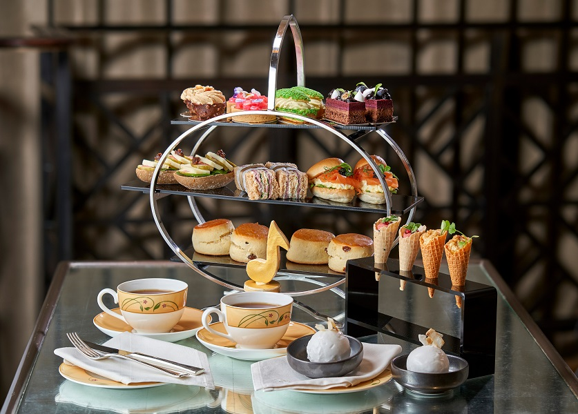 Afternoon tea in Jumeirah Carlton Tower is officially the best in London