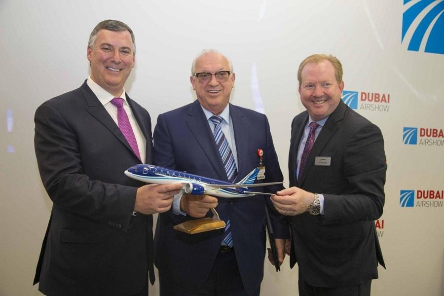 Emirates подписала соглашение напокупку 40 Boeing 787-10 Dreamliner