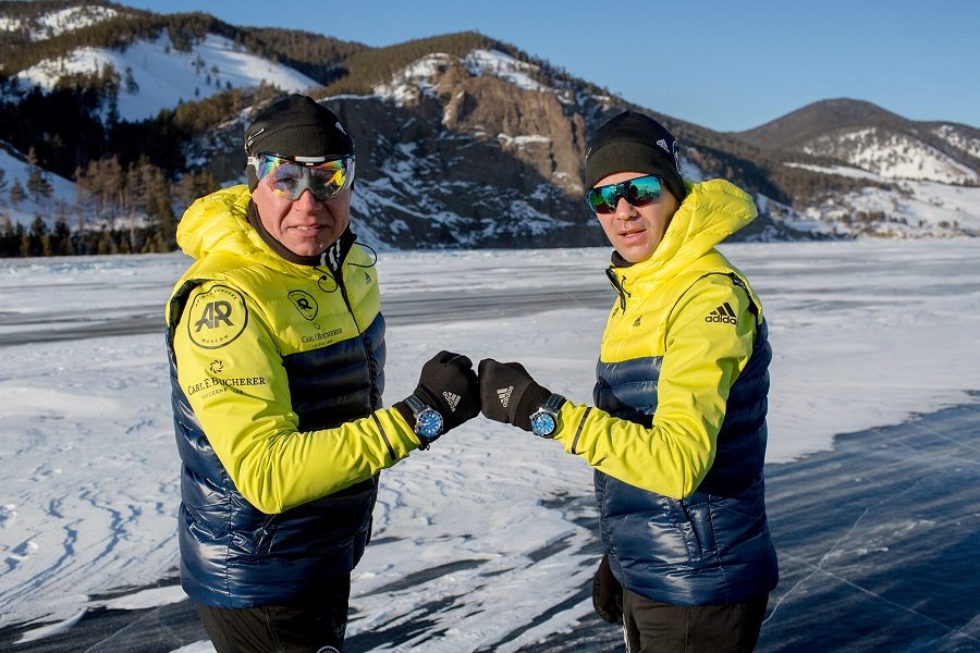 Carl F. Bucherer supports the Baikal Ice Marathon 2018