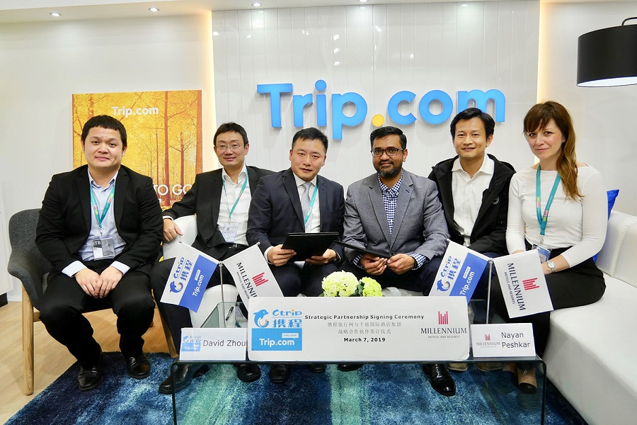 Ctrip signs China-focused Distribution Agreement with Millennium Hotels and Resorts