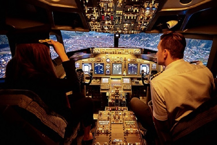 Real flight simulator now in Dubai