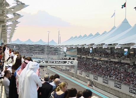 Англичанин Хэмилтон одержал победу квалификацию Гран-при Абу-Даби
