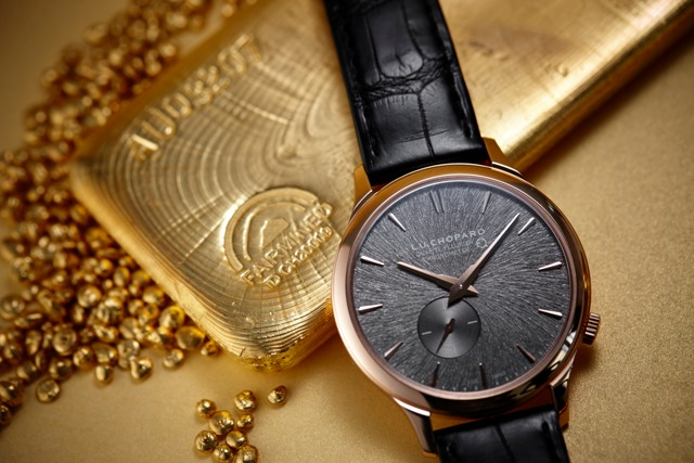 Chopard to use 100% Ethical Gold from July 2018