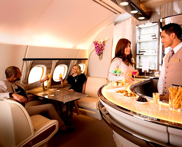 Emirates' new A380 Onboard Lounge to make its ATM debut at the Infinite Possibilities stand