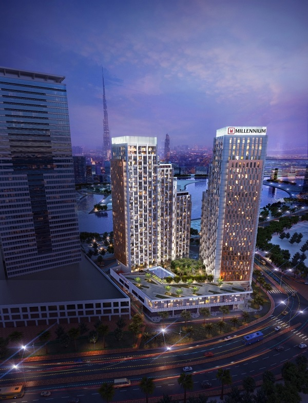 Deyaar Development and Millennium Hotels & Resorts MEA open Millennium Atria Business Bay