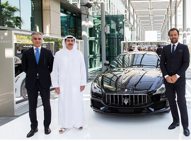 Al Tayer Motors unveils the new Maserati Quattroporte at the Salon Des Grandes Complications