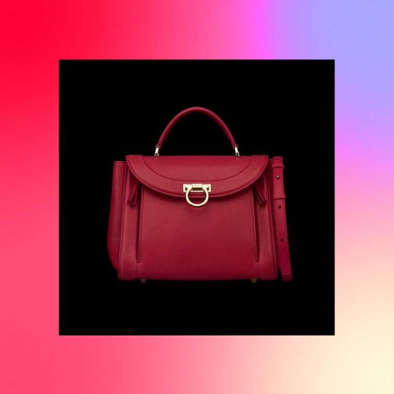 132795d07aaa Add new comment. Your name. Comment  . Salvatore Ferragamo presents its new Sofia  Rainbow bag ...