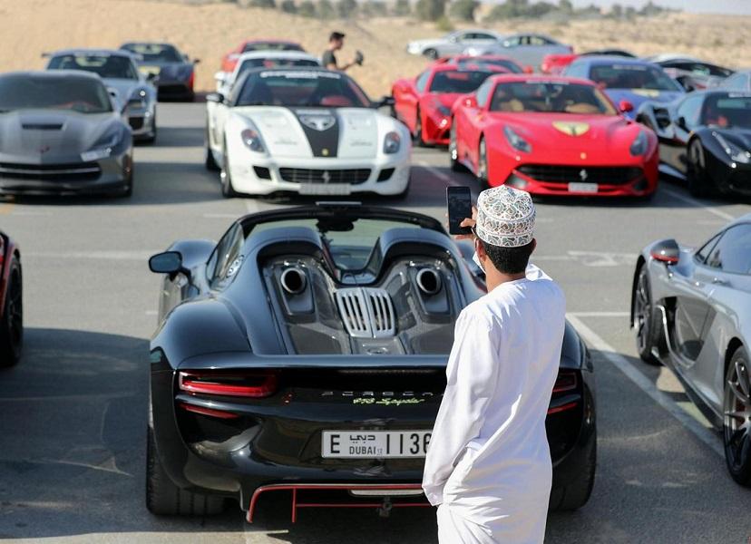 The supercar tour celebrating the Year of Za - DUBAI FORUM on