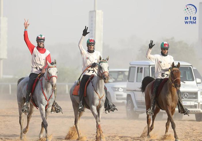 HH Sheikh Mohammed says UAE is a hub for equestrian endurance sports
