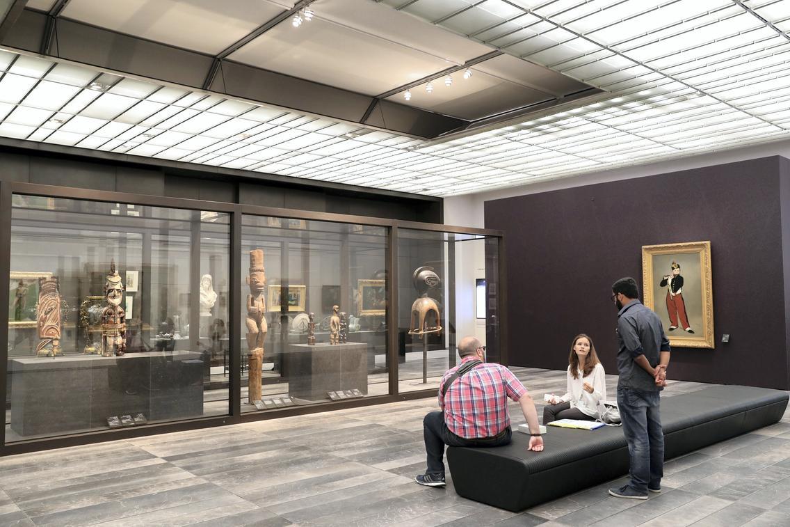 ВАбу-Даби открылся музей Лувр
