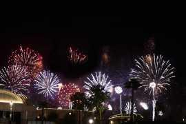 亚斯岛将举行特别烟花表演庆祝沙特国庆日