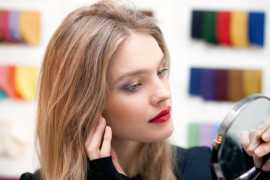 Natalia Vodianova has created her time make-up