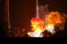 嫦娥四号成功飞天奔赴月宫:展现中国航天雄心