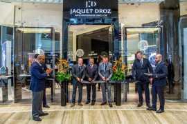 Jaquet Droz opens first boutique in Dubai