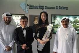 The grand opening of the AMAZING Museum & Gallery in Dubai