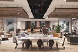 Al Huzaifa opens a new contemporary furniture and interiors showroom in Dubai