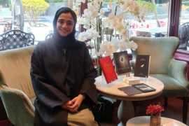 "Emirati author Sara Galadari launches a best-selling novel ""The Elemental"""