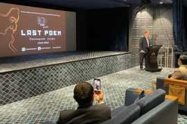 "The documentary ""Last Poem"" private screening in Dubai"