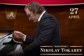 The piano virtuoso Nikolay Tokarev will perform in Dubai