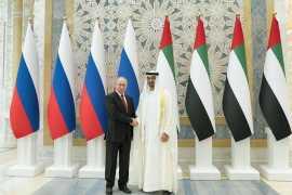 Vladimir Putin in the UAE (Update)