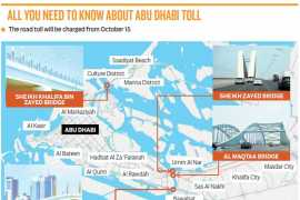 New road toll charges to be introduced in Abu Dhabi