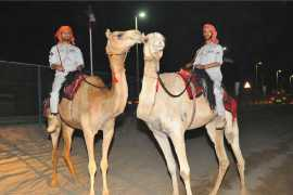 Abu Dhabi Police launches its very own Camel Patrol