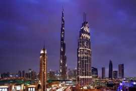 New Address Boulevard in Downtown Dubai