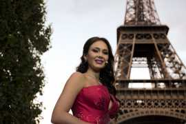 Russian Soprano Aida Garifullina sparkled in Van Cleef & Arpels (Video)