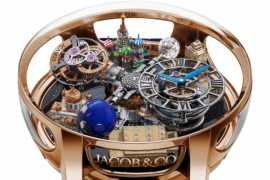 Jacob & Co. debuts the Astronomia Art Moscow in honor of Russia's Victory Day