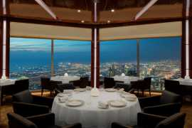 Chinese New Year celebrations at the highest restaurant in the world