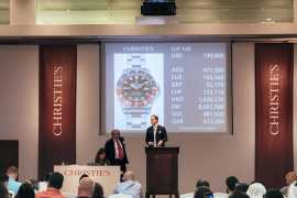 Rare and historical watches auctioned in Dubai