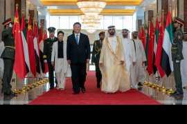 中国国家主席习近平访问阿联酋拉紧政治和经济纽带