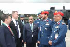 Ministry of Defence delegation visits 'MILEX-2019' in Belarus