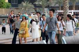 迪拜上半年的游客数量与去年持平达到810万