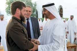 Sheikh Mohamed bin Zayed meets Chechen president