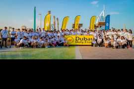 """Dubai Duty Free is """"In It"""" again for the 3rd Dubai Fitness Challenge"""