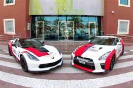 Three new supercars join Dubai Ambulance