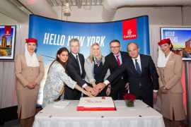 Emirates launches daily passenger service to Newark via Athens