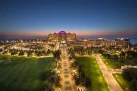Роскошный отель Дворец Эмиратов в Абу Даби
