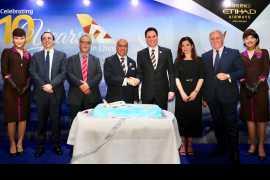 Etihad Airways celebrates ten years of successful operations in China