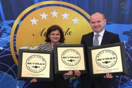 It's a hat-trick for Etihad Airways' First Class at Skytrax World Airlines Awards