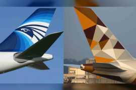 Etihad Airways and EgyptAir announce a new sign codeshare partnership