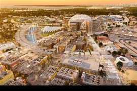主会场Al Wasl穹顶安放完毕--见证2020迪拜世博会的巅峰时刻