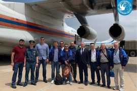 The Russian government sent to Beirut five planes of medical equipment and a team of doctors