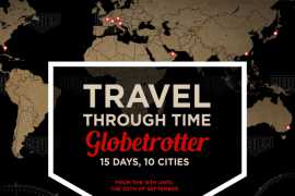 TAG Heuer is celebrating more than 150 years of history with  Heuer Globetrotter exhibition