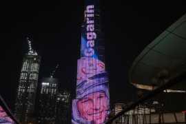 В ОАЭ прошла акция в честь 60-летия полета Юрия Гагарина в космос