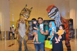 IMG Worlds Dinosaurs at DXB Airport
