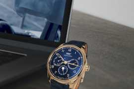 IWC Schaffhausen launches augmented reality with it's Portugieser 2020 models